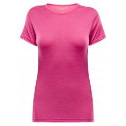 Bluzki sportowe damskie: Devold Koszulka Termoaktywna Z Krótkim Rękawem Breeze T-Shirt V-Neck Watermelon Xs