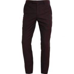 Chinosy męskie: KIOMI Spodnie materiałowe bordeaux melange