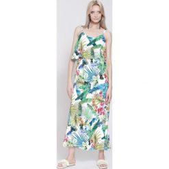 Sukienki: Biała Sukienka Around The World