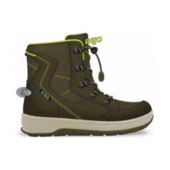 Buty trekkingowe damskie: BEJO Buty dziecięce Lappi Dark Khaki/Lime r. 37