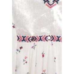 Abercrombie & Fitch EMBROIDERED SHINE  Bluzka white grounded floral. Białe bluzki dziewczęce bawełniane Abercrombie & Fitch. Za 179,00 zł.