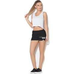 Colour Pleasure Spodnie damskie CP-020 99 czarne r. XS/S. Fioletowe spodnie sportowe damskie marki Colour pleasure, uniwersalny. Za 72,34 zł.