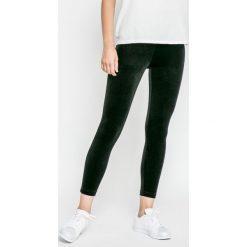 Only - Legginsy. Czarne legginsy marki ONLY, l, z materiału, z kapturem. W wyprzedaży za 39,90 zł.