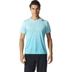 Adidas Koszulka FreeLift Tee Gardient niebieska r. L (BK6196). Białe koszulki sportowe męskie marki Adidas, m. Za 133,78 zł.