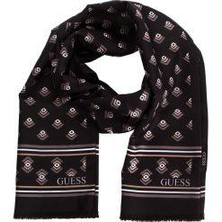 Szal GUESS - AM7794 POL03  BLA. Czarne szaliki damskie Guess, z aplikacjami, z materiału. Za 189,00 zł.