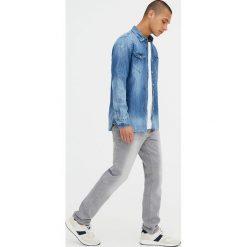 Koszule męskie: Koszula jeansowa z długim rękawem