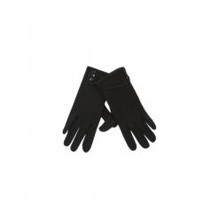 Rękawiczki damskie ocieplane, zimowe gładkie. Czarne rękawiczki damskie TXM, na zimę. Za 9,99 zł.