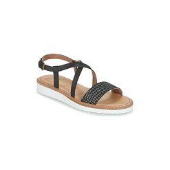 Sandały Casual Attitude  IPOURK. Czarne sandały trekkingowe damskie marki Casual Attitude. Za 181,30 zł.