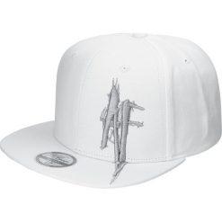 In Flames Anders Fridéns Logo Czapka Snapback biały. Białe czapki męskie In Flames, z aplikacjami, z tworzywa sztucznego. Za 54,90 zł.