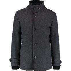 Jack & Jones Płaszcz wełniany /Płaszcz klasyczny grey melange. Szare płaszcze wełniane męskie marki Jack & Jones, m, klasyczne. W wyprzedaży za 382,85 zł.
