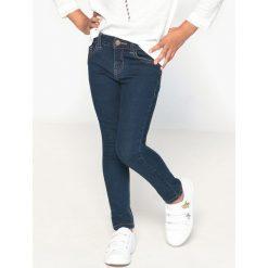 Jeansy slim 3-16 lat. Szare spodnie chłopięce La Redoute Collections, z bawełny, z standardowym stanem. Za 104,96 zł.