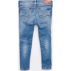 Pepe Jeans - Jeansy dziecięce Pixlette 92-180 cm. Niebieskie jeansy dziewczęce Pepe Jeans, z bawełny. Za 279,90 zł.
