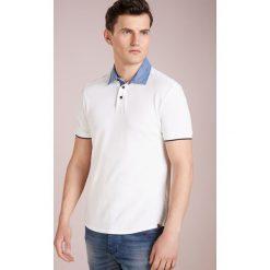 Hackett London SLUB CHAMBRAY SLIIM FIT Koszulka polo offwhite. Białe koszulki polo Hackett London, m, z bawełny. Za 509,00 zł.