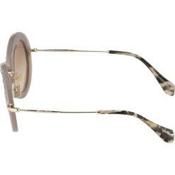 Okulary przeciwsłoneczne damskie: Miu Miu Okulary przeciwsłoneczne grey