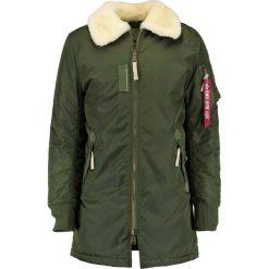 Alpha Industries INJECTOR Płaszcz zimowy dark green. Zielone płaszcze na zamek męskie Alpha Industries, na zimę, m, z materiału. Za 929,00 zł.