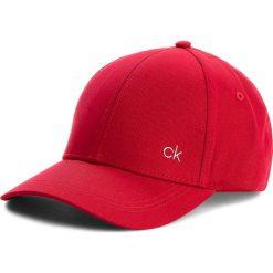 Czapka CALVIN KLEIN - Ck Metallic Baseball K40K400186 627. Czerwone czapki damskie Calvin Klein Black Label, z bawełny. Za 129,00 zł.