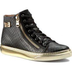 Sneakersy NIK - 08-0357-001 Czarny. Czarne botki damskie skórzane Nik. W wyprzedaży za 179,00 zł.