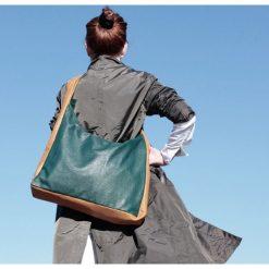Torebki klasyczne damskie: torba duokolor