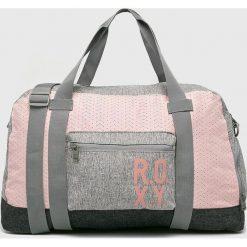 Roxy - Torba. Szare torebki klasyczne damskie Roxy, w paski, z poliesteru. W wyprzedaży za 199,90 zł.