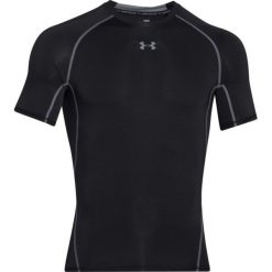 Odzież termoaktywna męska: Under Armour Koszulka męska HeatGear Armour Compression Black r. L (1257468001)