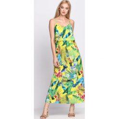 Żółta Sukienka Excited That. Żółte sukienki hiszpanki Born2be, na lato, s. Za 79,99 zł.