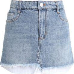 Miss Sixty MAX SKIRT Spódnica jeansowa blue denim. Niebieskie minispódniczki Miss Sixty, s, z bawełny. Za 579,00 zł.