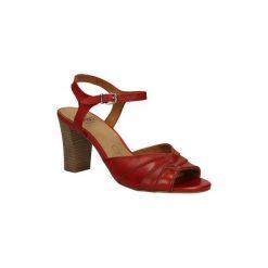 Sandały Caprice  SANDAŁY  9-28300-24. Brązowe rzymianki damskie Caprice. Za 169,99 zł.