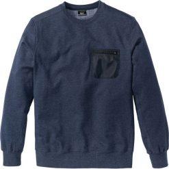 Bluza Regular Fit bonprix ciemnoniebieski. Niebieskie bejsbolówki męskie bonprix, m, z tkaniny. Za 59,99 zł.