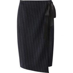 Spódniczki: Portfelowa, półdługa spódnica w paski