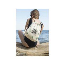 Plecak JASKÓŁKI. Białe plecaki damskie Dwie lewe ręce, z nadrukiem, z bawełny. Za 139,00 zł.