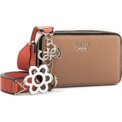 Torebka GUESS - Dania Mini-Bag HWVG69 57700 TNM. Brązowe listonoszki damskie marki Guess, z aplikacjami. W wyprzedaży za 289,00 zł.