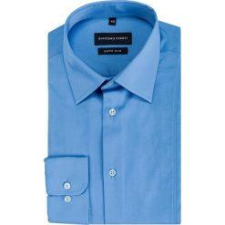 Koszula MICHELE KDNE000335. Białe koszule męskie na spinki marki Giacomo Conti, m, z bawełny, z klasycznym kołnierzykiem. Za 199,00 zł.