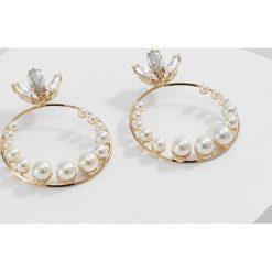 Kolczyki damskie: Anton Heunis Kolczyki cream pearls