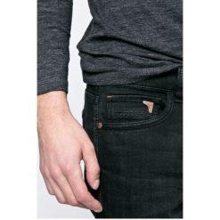 Camel Active - Jeansy Madison. Brązowe jeansy męskie slim marki Camel Active, z aplikacjami, z bawełny. W wyprzedaży za 299,90 zł.