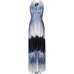 Sukienki: Długa letnia sukienka bonprix niebieski