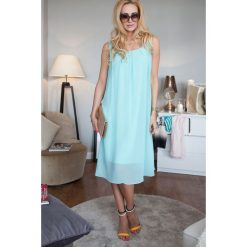 Sukienki: Sukienka miętowa