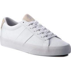 Tenisówki POLO RALPH LAUREN - Sayer 816688479003 White. Białe tenisówki męskie marki Polo Ralph Lauren, z gumy. W wyprzedaży za 259,00 zł.