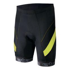 Etape Spodenki Rowerowe Profi Pas Black/Yellow Fluo Xl. Czarne odzież rowerowa męska marki Etape, w paski, sportowe. W wyprzedaży za 159,00 zł.