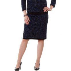 Spódniczki: Spódnica w kolorze niebiesko-czarnym
