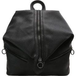 Plecaki damskie: Sisley SLOUCHY ZIP Plecak black