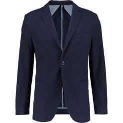 Marynarki męskie slim fit: Sisley Marynarka dark blue