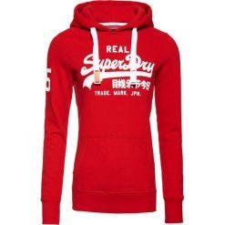 Bluzy damskie: Superdry VINTAGE LOGO MONO HOODIE Bluza z kapturem red, white