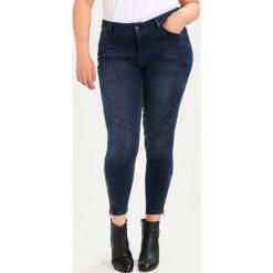 Boyfriendy damskie: Zizzi CROPPED SALLY Jeans Skinny Fit dark blue denim
