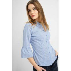 Bluzki damskie: Bluzka w paski i kropki