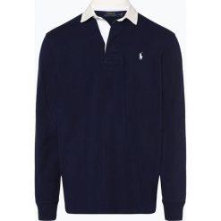 Polo Ralph Lauren - Męska bluza nierozpinana, niebieski. Niebieskie bluzy męskie Polo Ralph Lauren, l, z haftami. Za 499,95 zł.