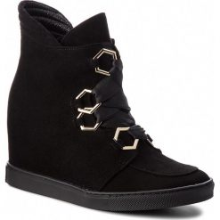 Sneakersy BALDOWSKI - W00556-SNIK-006 Zamsz Czarny. Czarne sneakersy damskie Baldowski, ze skóry. W wyprzedaży za 479,00 zł.