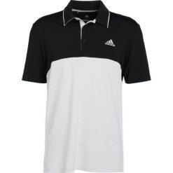 Koszulki sportowe męskie: adidas Golf ULTIMATE LEFT CHEST Koszulka sportowa black heather/grey one heather