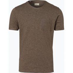 Selected - T-shirt męski, beżowy. Szare t-shirty męskie marki Selected, l, z materiału. Za 99,95 zł.