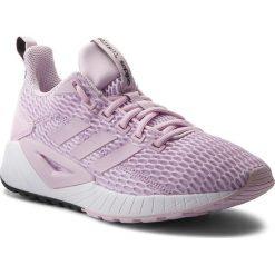 Buty adidas - Questar Cc W DB1299 Aerpnk/Aerpnk/Carbon. Czerwone buty do biegania damskie marki KALENJI, z gumy. W wyprzedaży za 259,00 zł.