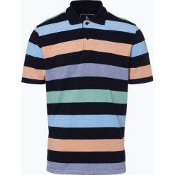 Andrew James Sailing - Męska koszulka polo, niebieski. Niebieskie koszulki polo Andrew James Sailing, m, w paski, z bawełny. Za 49,95 zł.